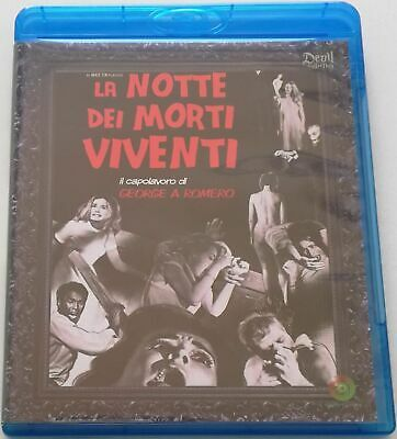 La Notte Dei Morti Viventi (Devil Collection) Film Blu-Ray Italiano Vendita Raro