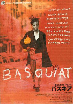 David Bowie handbill Basquiat - Pair of Flyers Japanese promo
