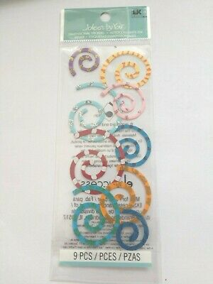 Jolees By You Spirals Scrap Booking Stickers