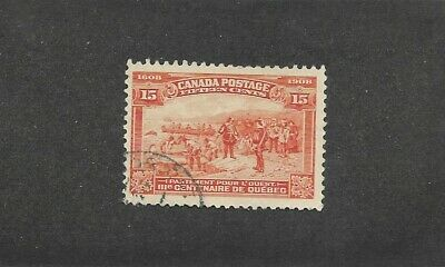 Canada Stamps #97-103 Set Of 8 (Used) From 1908
