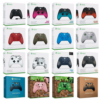 Xbox One Genuine Official Wireless Controller with Box, 3.5 mm Jack