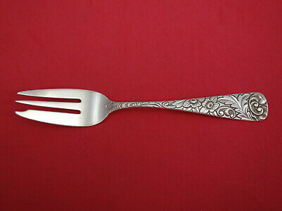 Scroll by Durgin Sterling Silver Fish Fork 3-tine 7""