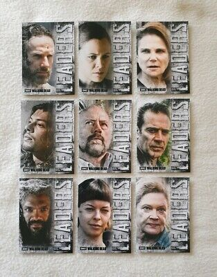 Topps The Walking Dead Hunters & The Hunted Leaders Trading Card Set