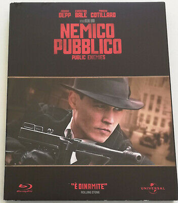 Nemico Pubblico Public Enemies (Johnny Depp) Film Blu-Ray Italiano Vendita