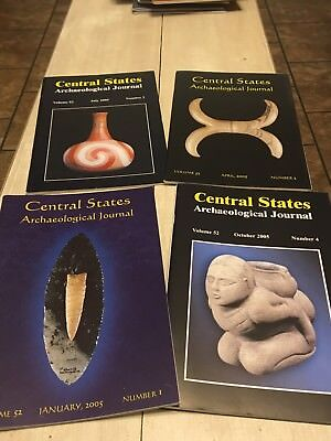 CENTRAL STATES ARCHAEOLOGICAL JOURNALS 2005 4 Magazines, Full Year