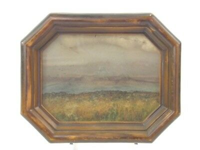 Antique early 20th century English School watercolour painting landscape