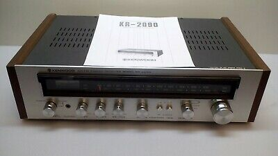 Factory Refurbished Kenwood KR-2090 Stereo Receiver + Phono Input 3Year Warranty