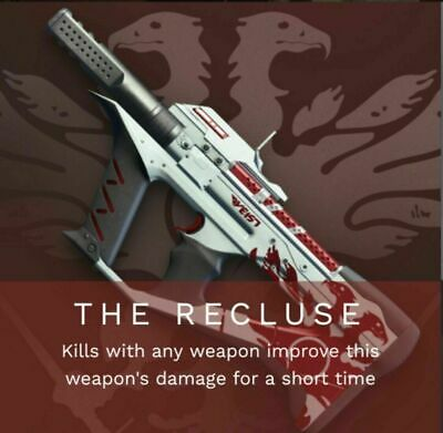 Destiny 2 THE RECLUSE SMG GUARANTEED WEAPON -24 HOUR- COMPLETION PS4/PC