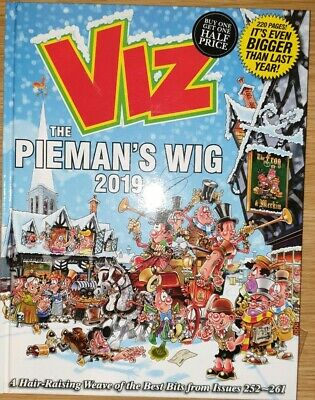 Viz Annual 2019 The Piemans Wig A Hair-Raising Weave of the Best Bits from Iss