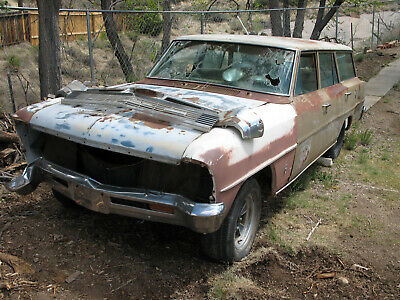 1966 Chevrolet Nova Station Wagon -
