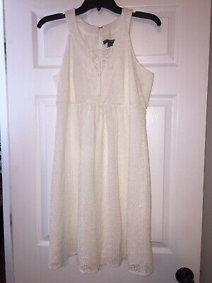 b6852ce5748e2 NWT A Pea In The Pod Maternity Dress Sz S Small White Eyelet Lace Easter  Spring
