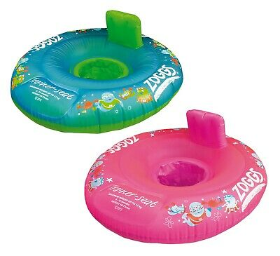 Zoggs Inflatable Swimming Trainer Seat Ring Baby Toddler 3-12 Months