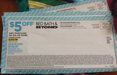 Coupons Bed Bath Beyond $5 off $15 Holiday Baby Gift Shower Dorms Home