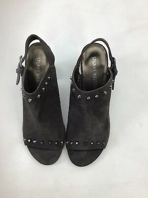 In Quality Stuart Weitzman Commodor Londra Suede Shoe Size 7m F273/ Excellent