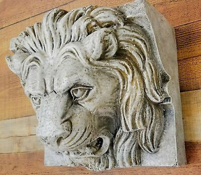 Lion Wall Shelf Bracket Vintage Sconce Corbel Antique Reproduction Greek Art