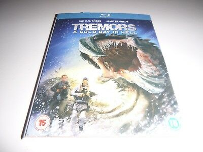 Slipcover For Tremors A Cold Day In Hell Blu Ray (New) No Disc