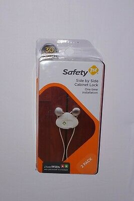 Safety 1st Side by Side Cabinet Locks 2 Pack. One time installation