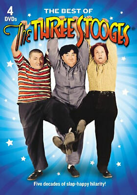 The Best of the Three Stooges (DVD, 2011, 4-Disc Set) - Brand New