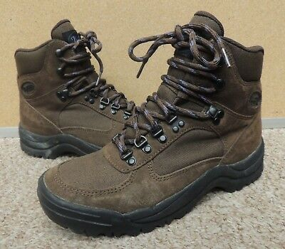 VINTAGE VASQUE BROWN Leather Hiking Boots Men\'s Size 8.5 M - $39.95 ...