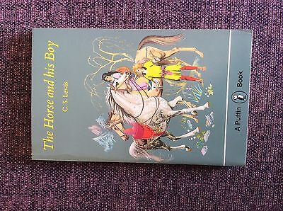 VINTAGE PUFFIN BOOK - THE HORSE AND HIS B - C S LEWIS - 1979 Excellent Condition