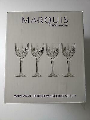 Classy Waterford Marquis - Markham All Purpose Wine Goblet - Set of 4