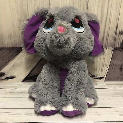 Peek-A-Boo Toys Elephant Gray Plush Stuffed Animal Play Baby New