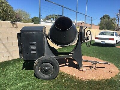 used cement concrete mixer 3.5 CUBIC WISCONSIN