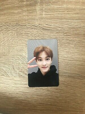 NCT 127 MARK Official PHOTOCARD PC REGULATE 1st Repackage Album with top loader