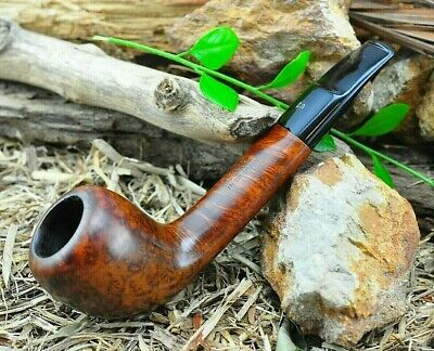 Stanwell MODELE DEPOSE Briar Estate Pipe Registration Era Bent Acorn - AWESOME!!