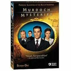 Murdoch Mysteries - Season One (DVD, 2009, 4-Disc Set)- BRAND NEW SEALED!