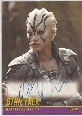 Sofia Boutella as Jaylah Autograph Card Star Trek Beyond Movie Trading Cards