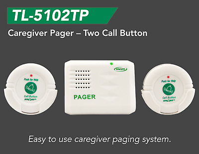 SMART®️  Caregiver 'Fall Prevention''Call Button' Pager System -TL-5102TP