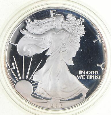 PROOF - NICE - 1986-S American Silver Eagle - DEEP CAMEO Proof - Rare *019