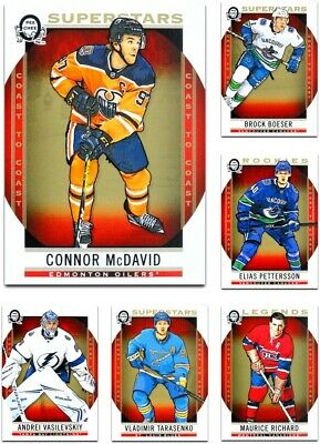 2018-19 OPC Coast to Coast Canadian Tire **** PICK YOUR CARD **** From The SET