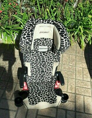 The First Years Pathway Ultra+ Booster Car Seat - Leopard