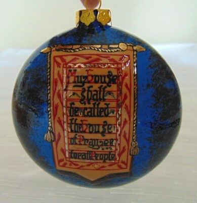 Porcelain Christmas Tree Ornament Collector ChristChurch Cathedral 2009