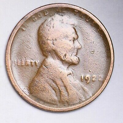 1922 D WEAK STRIKE Lincoln Wheat Cent Penny FREE SHIPPING