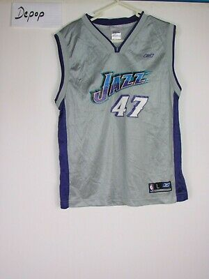 a1e5a8ba146 VTG ADIDAS AUTHENTIC Utah Jazz Carlos Boozer 5 1979 HWC Throwback ...