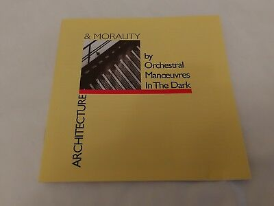 Orchestral Manoevres In The Dark  OMD - Architecture & Morality - CD (2003) 1981