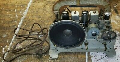 RCA VICTOR ~ Table Top Radio ~ Model 75X11 ~ 1948 ~ Chassis