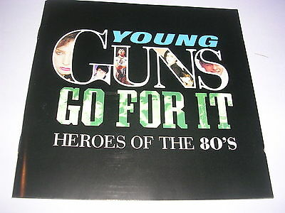 Various Artists - Young Guns Go for It (Heroes of the 80's, 2000) CD X 2