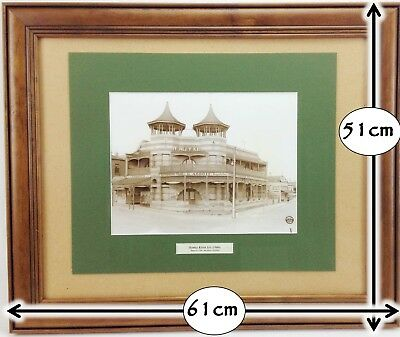 Historical 1940's ADELAIDE HENLEY BEACH Wall Picture Frame #709