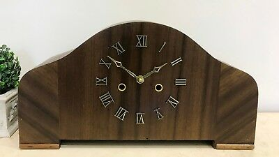 RESTORED to Quartz Vintage Mantel Clock #1087