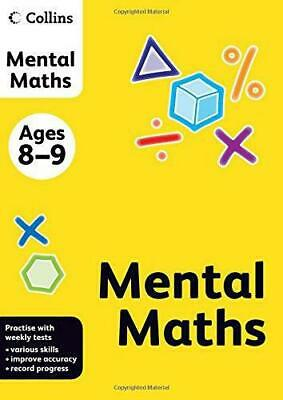 Collins Mental Maths: Ages 8-9 (Collins Practice), , Good Condition Book, ISBN 9