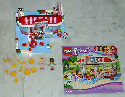 Lego Friends Réf 3061 City Park Café 222 Pcs Complet Tbe Notice