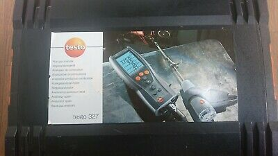 Testo Flue Gas Analyser, in full working order (Not Calibrated)