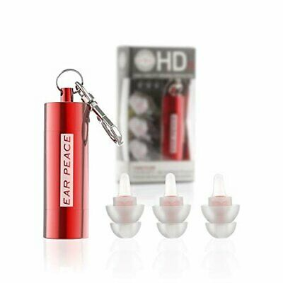 EarPeace HD Concert Ear Plugs - Hearing Protection for DJs & Musicians