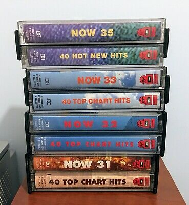 Now Thats What I Call Music 31/32/33/35 Cassette Tapes