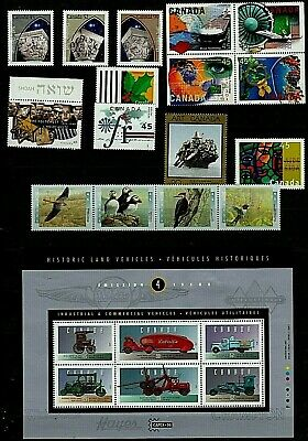 CANADA Stamps Collection Various ISSUES 1995-96 ALL UNMOUNTED MINT Our Ref:QM989