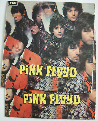 Pink Floyd SAUCERFUL OF SECRETS & PIPER AT THE GATES New Zealand RARE 2x LP SET